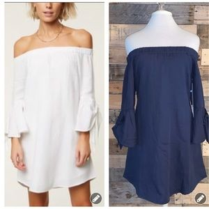 O'Neill Clady Off-the-Shoulder Dress NWT S